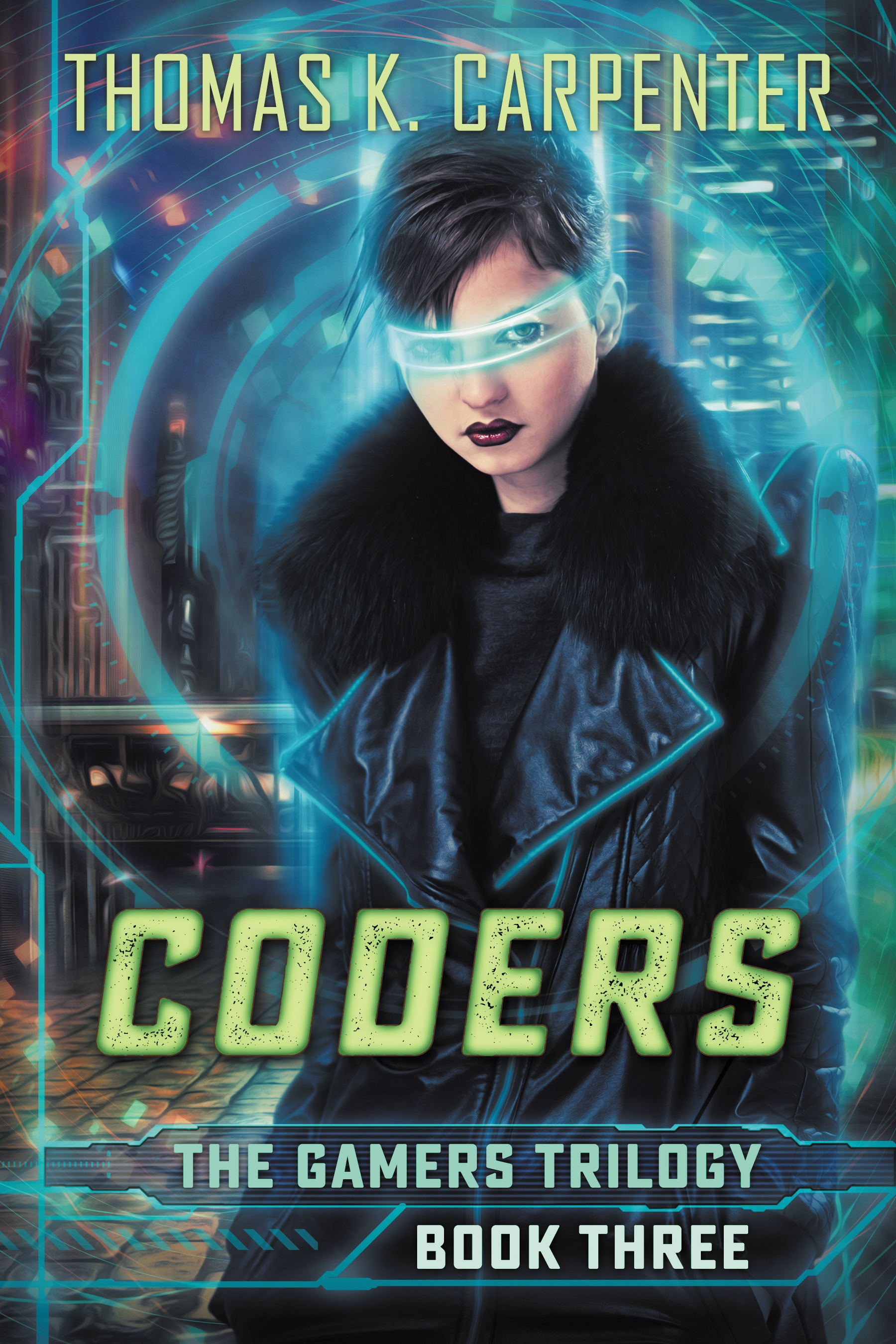 Coders, a YA novel by Thomas K. Carpenter