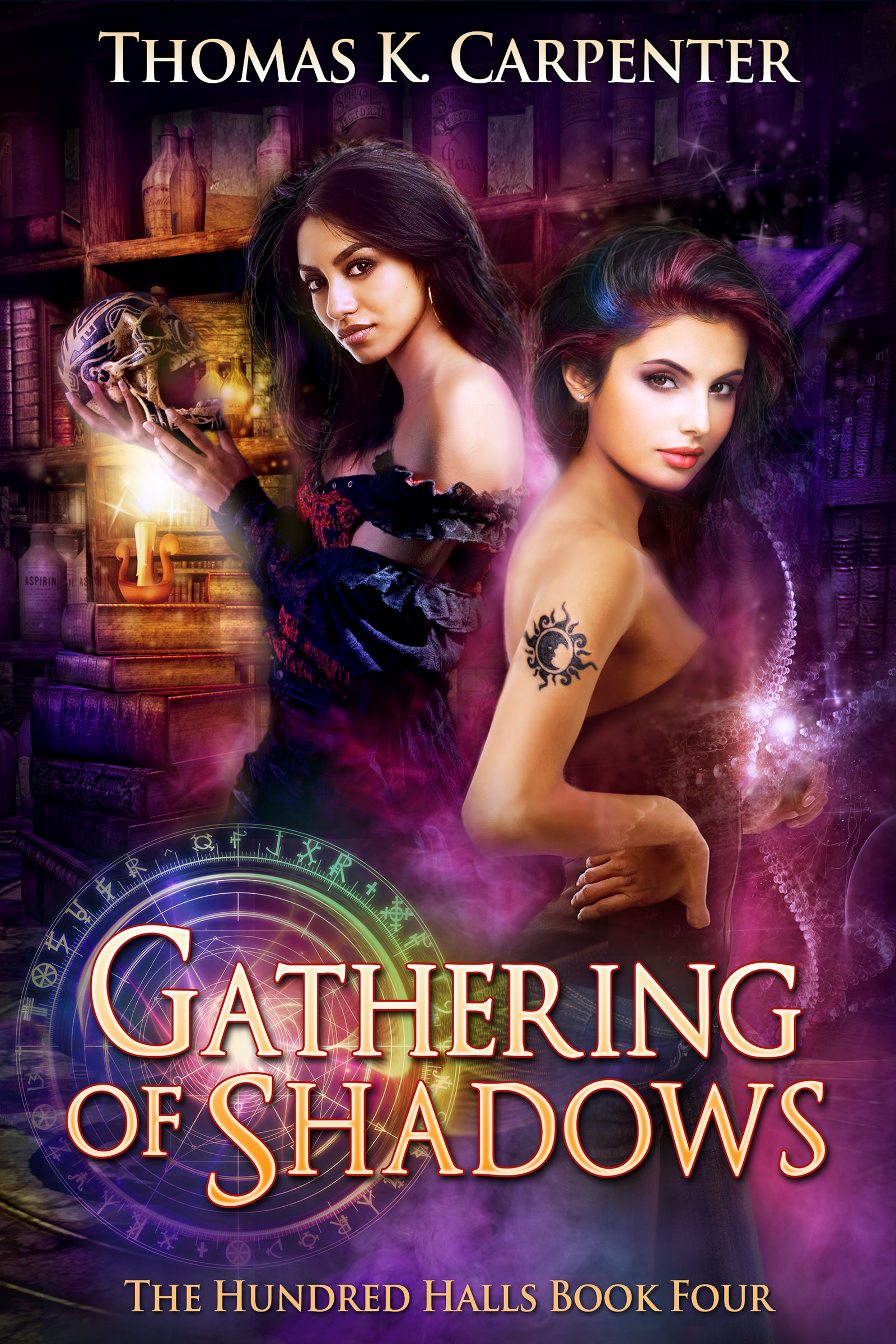 Gathering of Shadows, a contemporary fantasy novel by Thomas K. Carpenter